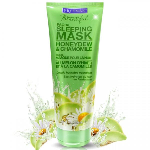 Noćna maska za lice kamilica i dinja medljika