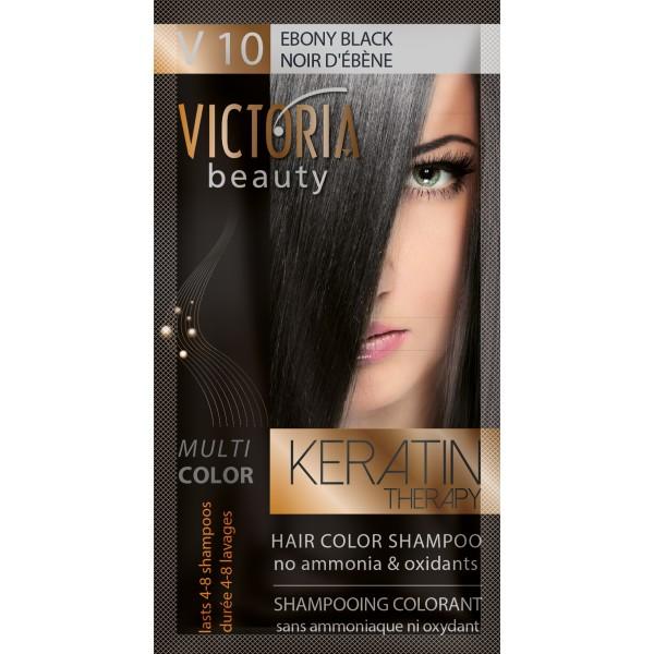 Kolor šampon sa keratinom V10 crna