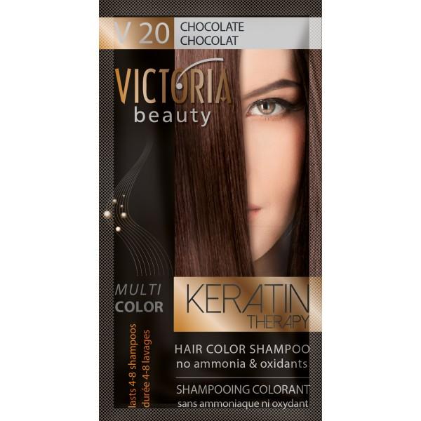 Kolor šampon sa keratinom V20 čokolada