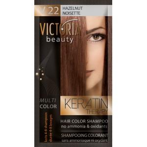 Kolor šampon sa keratinom V22 lešnik