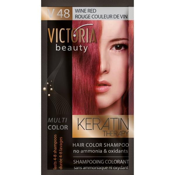 Kolor šampon sa keratinom V48 crveno vino