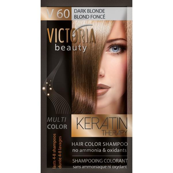 Kolor šampon sa keratinom V60 tamno plava