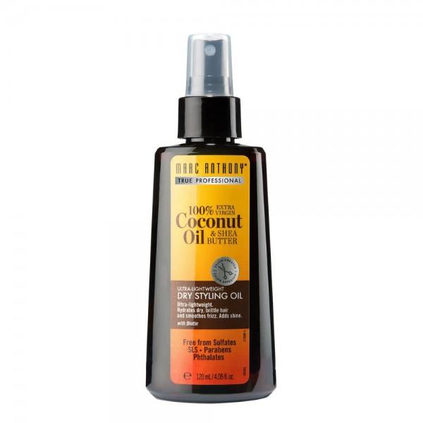 Marc Anthony 100% ekstra devičansko kokosovo ulje i ši maslac suvo ulje za stilizovanje kose ultra-lako 120ml