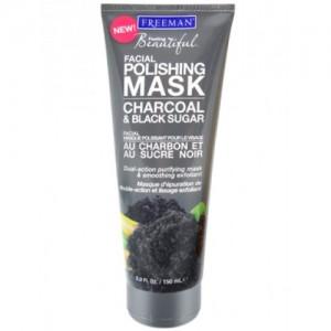Piling i maska za lice sa aktivnim ugljem i crnim secerom