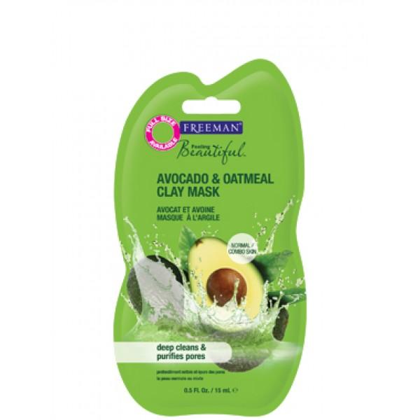 Glinena maska za lice avokado Freeman kozmetika putno pakovanje