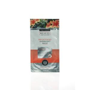 Noćna maska za izbeljivanje kože hibiskus i vitamin C putno pakovanje 15 ml
