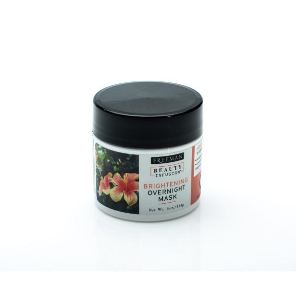 Noćna maska za izbeljivanje kože hibiskus i vitamin C 114 ml