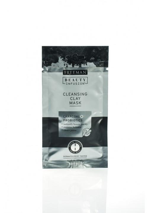 Glinena maska aktivni ugalj i probiotici  putno pakovanje 15ml.