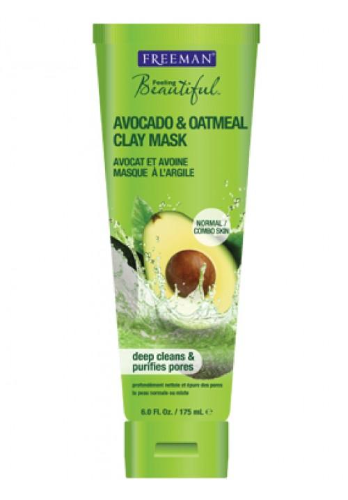 Glinena maska za lice avokado