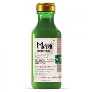 Maui Bambus gusta i obnovljena kosa šampon bez sulfata za omekšavanje i jačanje suve, lomljive dlake kose 385ml