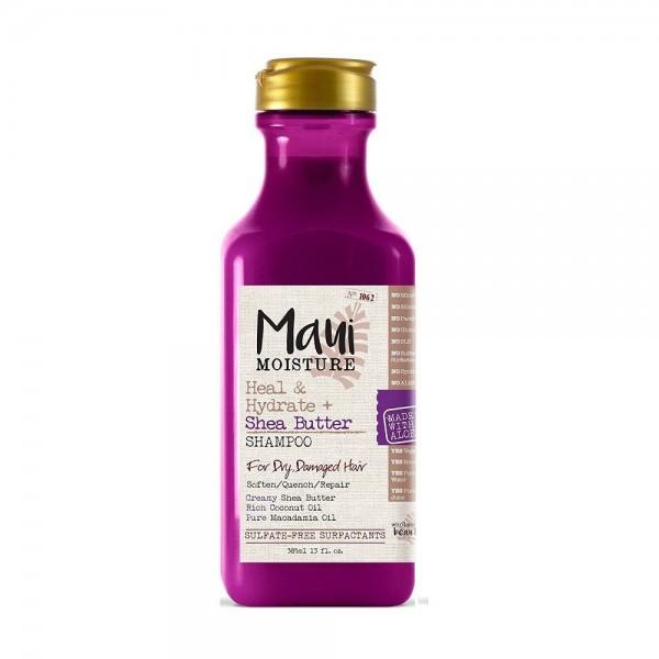 Maui Shea Butter šampon za suvu i oštećenu kosu oporavlja, omekšava i napaja kosu 385ml