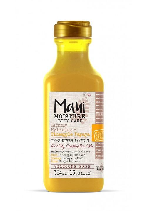 Maui Moisture ananas papaja kremasti losion za telo in-shower za hidrataciju 384ml