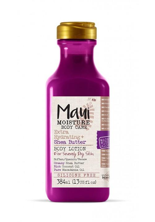 Maui Moisture ši maslac losion za telo 384ml hidratantni losion za telo za suvu i kombinovnu kožu sa sokom aloje i kokosovom vodom bez silikona