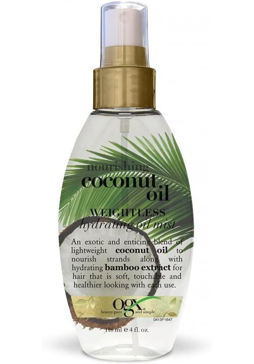 OGX kokosovo bestežinsko ulje hidrator 118ml