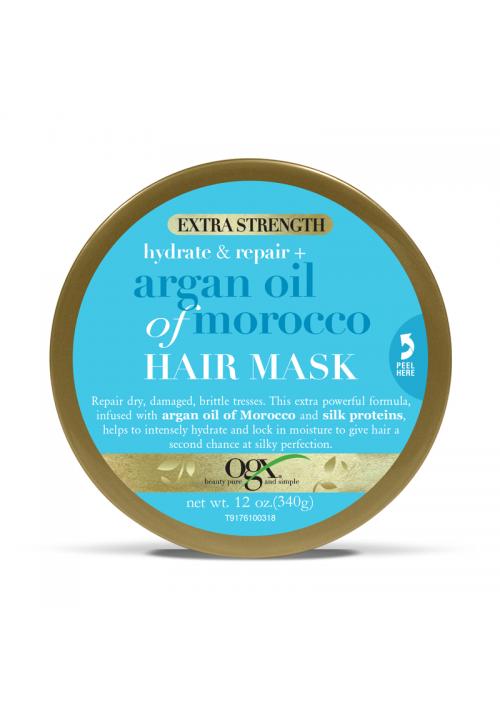 OGX maska za kosu hidratacija i obnavljanje + arganovo ulje iz Maroka 168g