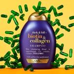 OGX šampon ekstra volumen biotin kolagen 385ml