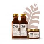Maui Vanila šampon, regenerator i maslac za zamršenu i nemirnu kosu oporavlja, razmrsuje i oživljava set
