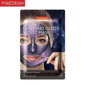 Purederm Svetlucava Galaxy ljubičasta maska 10g zateže i pročišćava