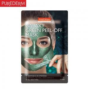 Purederm Svetlucava Galaxy peel-off zelena maska 10g umiruje i pročišćava
