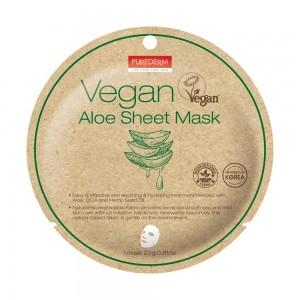 Vegan aloe vera maska 23g Purederm
