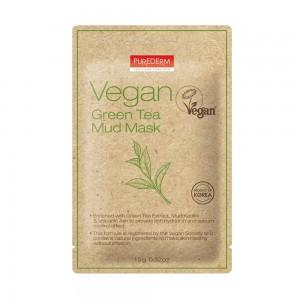 Vegan blatna mask sa zelenim čajem i vulkanskim pepelom 15g Purederm