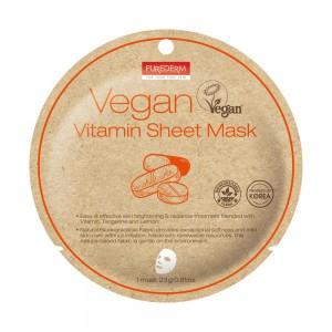 Vegan vitaminska maska 23 g Purederm