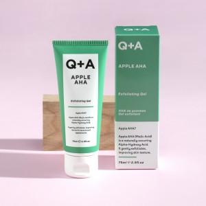 Q+A AHA jabuka piling gel za lice 75ml