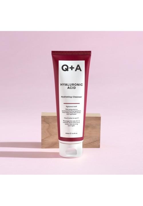 Q+A hijaluronski hidrirajući čistač za lice 125ml