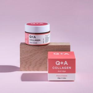 Q+A kolagen krema za lice 50g protiv starenja