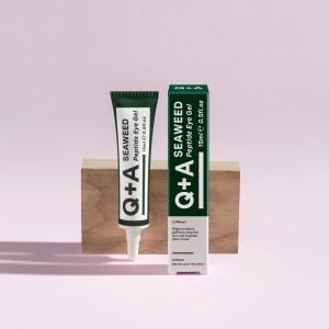 Q+A gel za područje očiju sa peptidima i algama 15ml