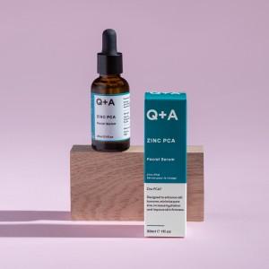 Q+A Cink PCA serum za lice 30ml