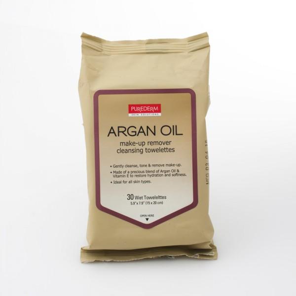 Maramice za skidanje šminke i čišćenje lica Argan ulje  30 kom.